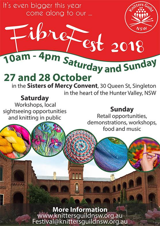 Fibrefest 2018 at Sacred Spaces Singleton